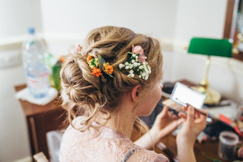 wired Hair Flowers. Photo: Poppymaltby.com