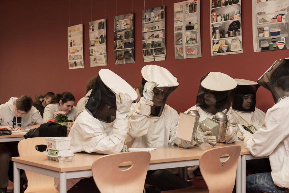Seit Herbst 2012 betreiben die Schüler des Friedrich-Dessauer-Gymnasiums im Rahmen einer fachübergreifenden AG eine Imkerei im Bikuz (Bildungs- und Kulturzentrum).   mehr erfahren