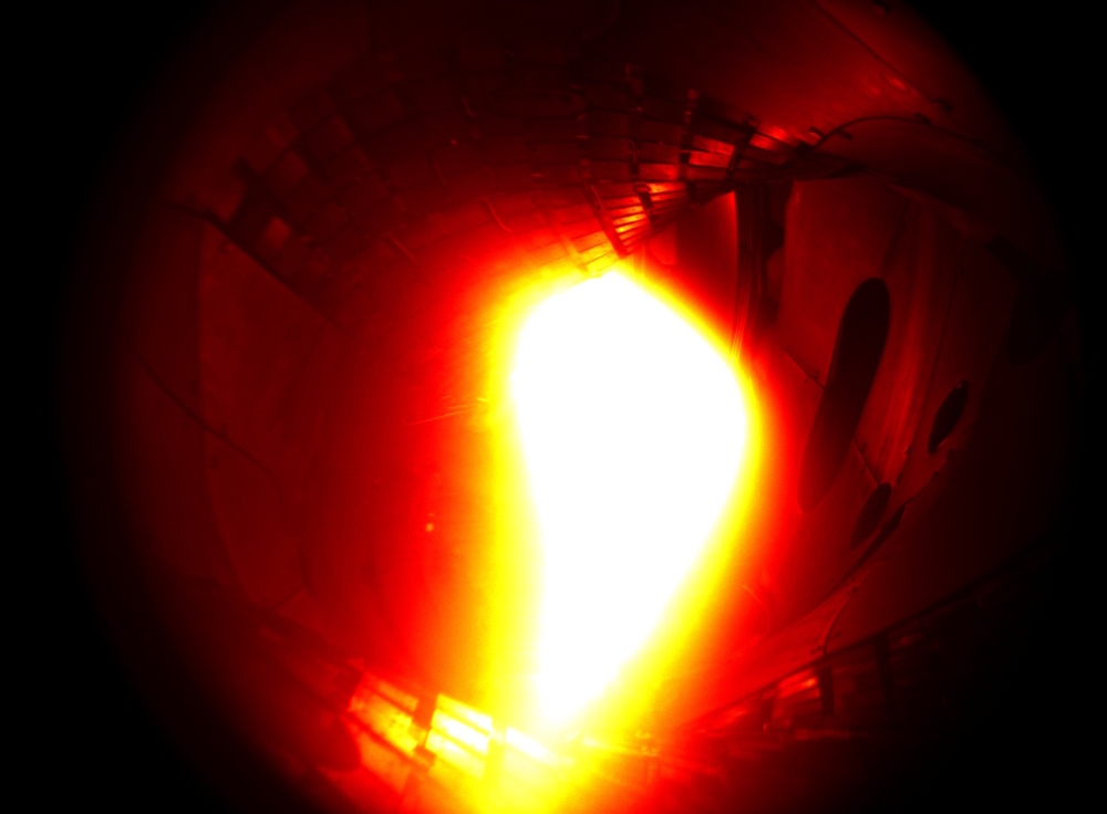 Plasma made in Wendelstein. 10. Dezember 2015 © IPP