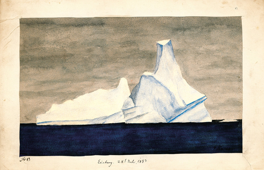 """Eisberg"" von Franz Boas @ American Philosophicel Society, Philadelphia"
