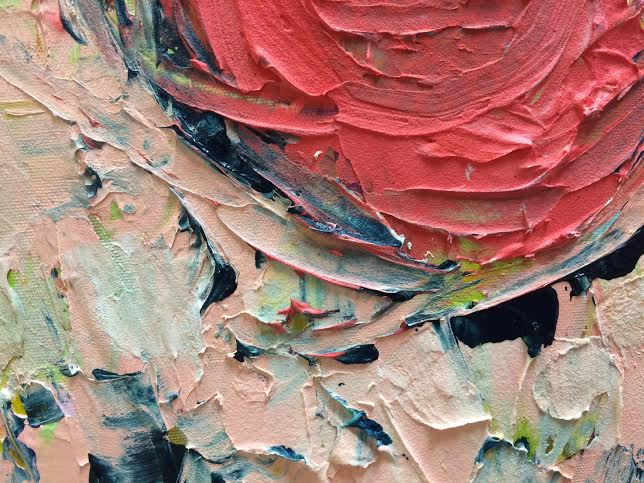 Detail of New Beginnings (SOLD)