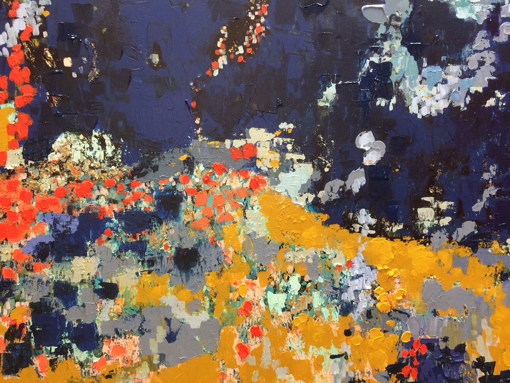 Detail of Val d'Orcia (SOLD)