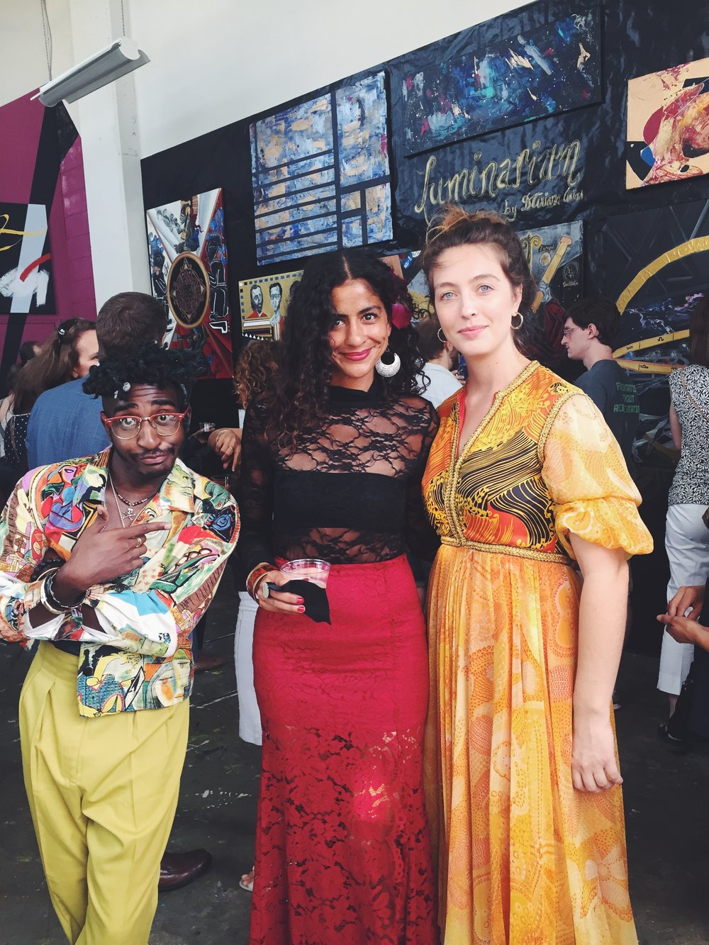 Photo Credit (left to right): Maps Glover, Artist Dariana Arias & Marta Staudinger