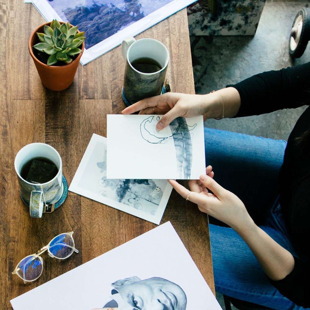 SERVICES FOR ARTISTS >> We offer consultation, portfolio review & many other services for emerging artists.