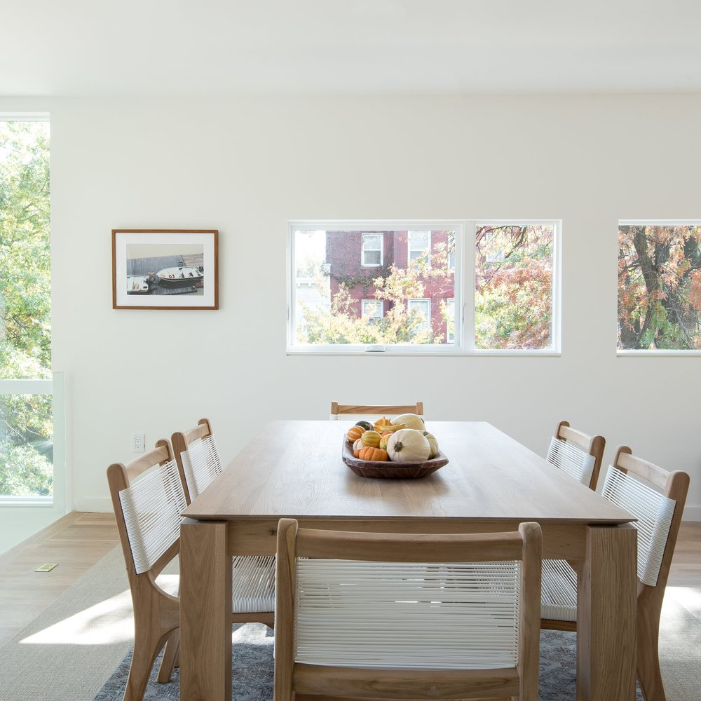 Art-in-Dining-Room-Interior-Washington-DC-Latela-Art-Gallery