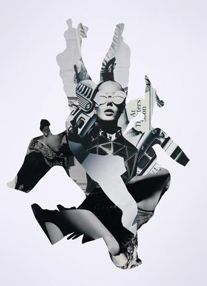 JOE CASTRO • Analog collage