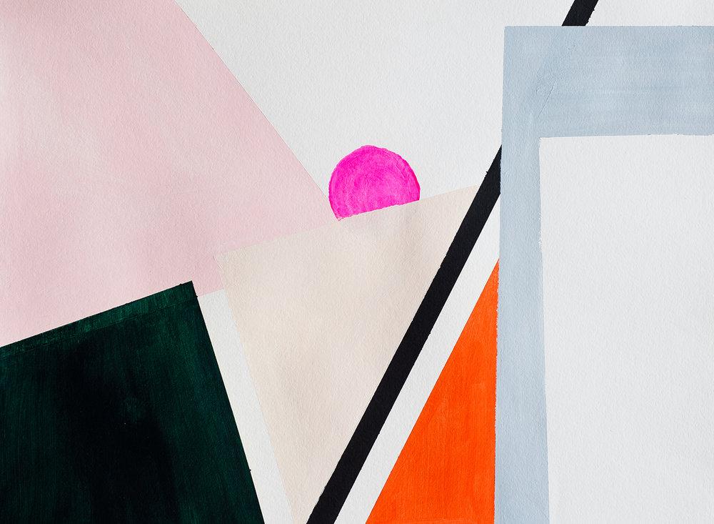 KRISTIN GAUDIO ENDSLEY • Geometric paintings
