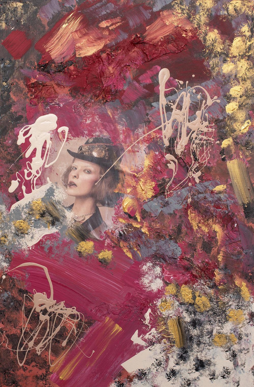 MARTA STAUDINGER • Mixed media figurative paintings