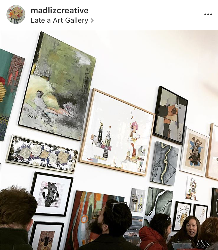 LatelaArtGallery-CollageIIOpening1