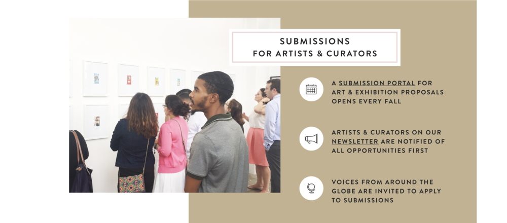 Art and Exhibition Submissions