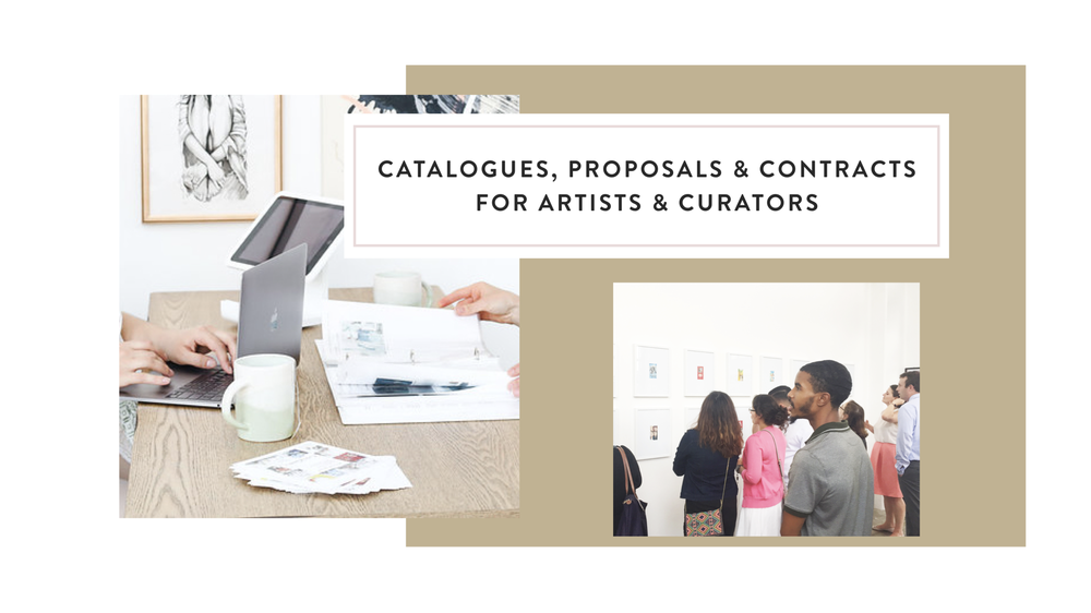 Business Development for Artists and Curators