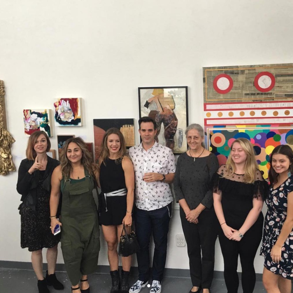 Group Exhibition Fall 2018:  Dimensions  ft. collage & mixed media works