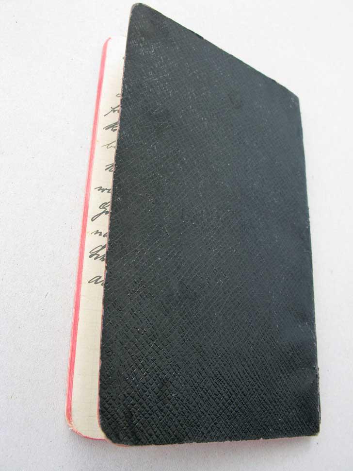 Notices de / Notizbuch von Hedwig Schmitz-Fürstenberg, 1931  © Hedwig Schmitz-Fürstenberg