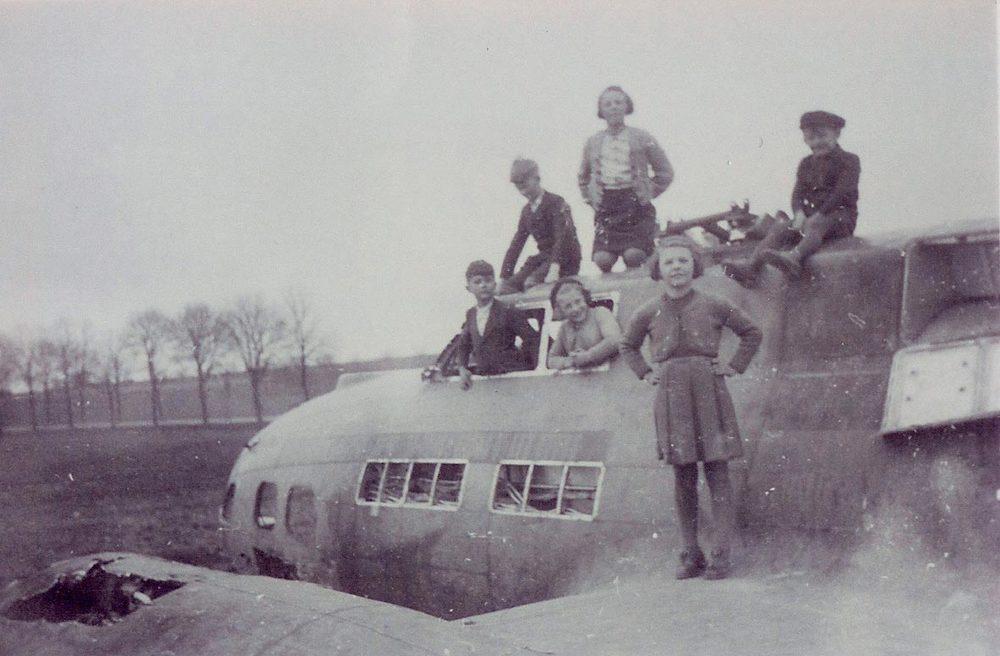 B-17, Janvier / Januar, 1945 © photographe inconnu, droits réservés, Collection Jos Feller, Sandweiler