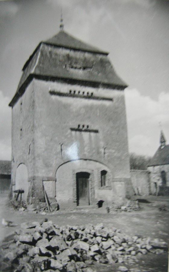 Colombier / Taubenturm, Birelerhof, Sandweiler ca. 1950 © photographe inconnu, droits réservés