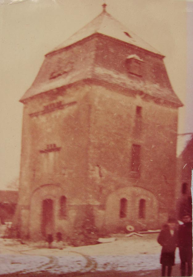 Colombier / Taubenturm, Birelerhof, Sandweiler, 3.12.1966 © photographe inconnu, droits réservés
