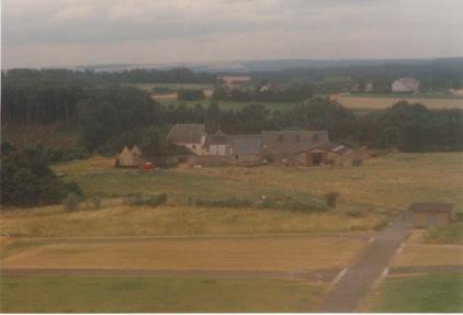 Vue aérienne / Luftaufnahme, Birelerhof, Sandweiler, 1993, © Marguerite Jacucci