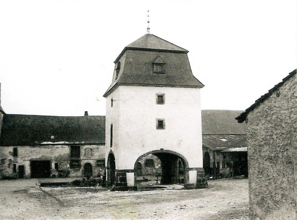 Colombier / Taubenturm, Birelerhof, Sandweiler, 1971 © Norbert Quintus, Peppange