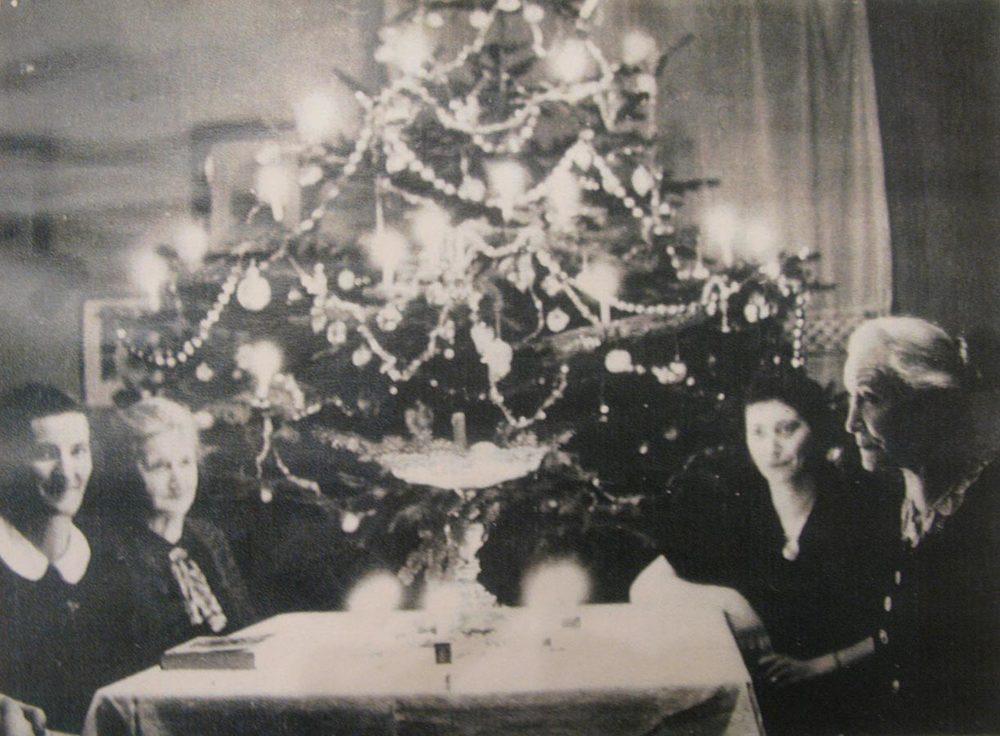 Noël /Weihnachten, Birelerhof, Sandweiler, ca. 1930 © photographe inconnu, droits réservés