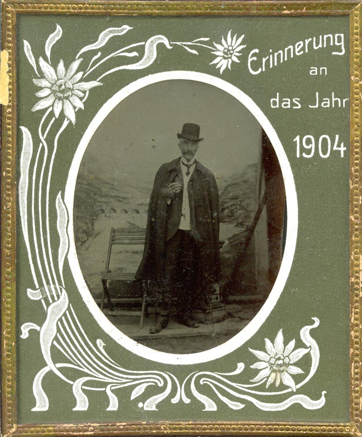 Tillmann Schmitz, 1904 (Ferrotypie) © photographe inconnu, droits réservés