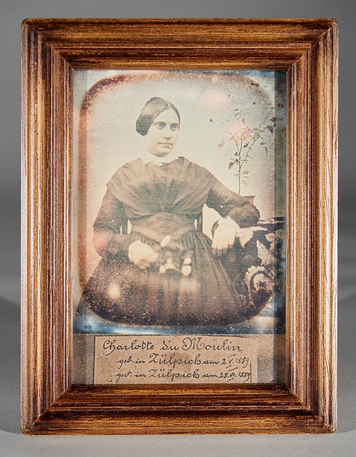 Charlotte du Moulin (Copie d'un daguerréotype / Kopie einer Daguerréotypie) © auteur inconnu, droits réservés