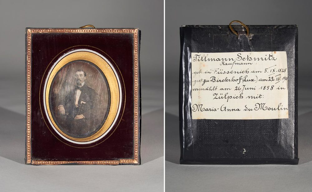 Daguerréotype de / Daguerreotypie von Tillmann Schmitz © photographe inconnu, droits réservés