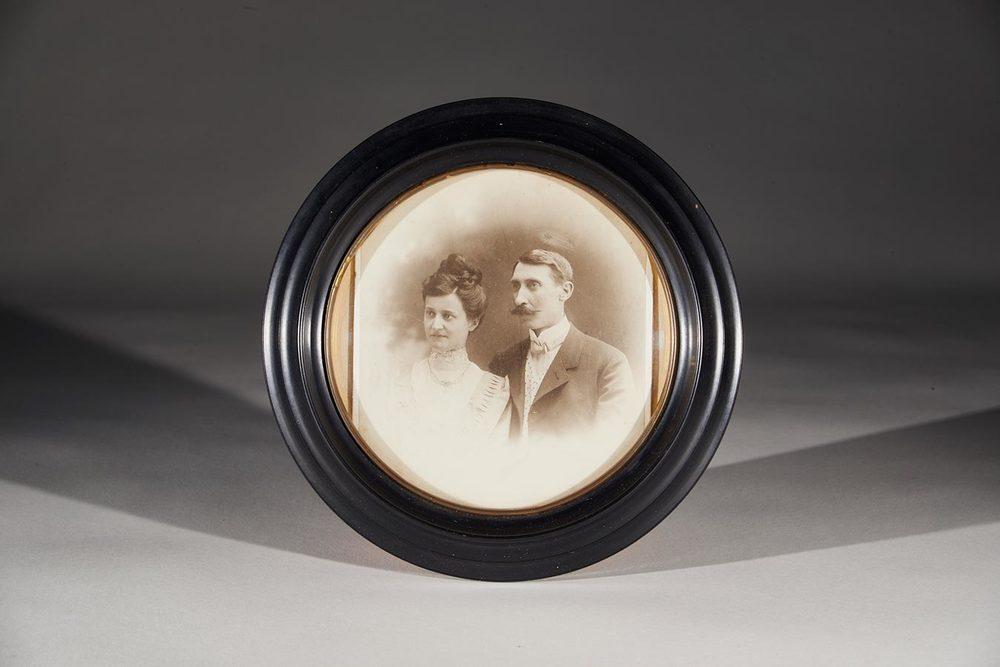 Couple / Ehepaar Hedwig Fürstenberg et / und Alderich Schmitz © Charles Bernhoeft, 1908