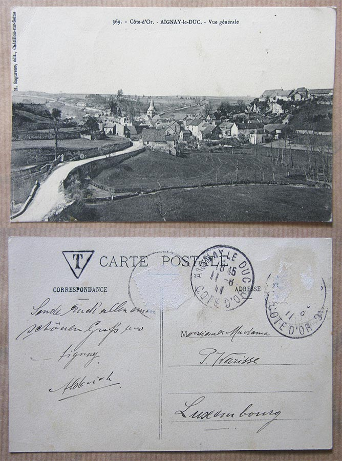 © H. Bogureau édit., Chatillon-sur-Seine