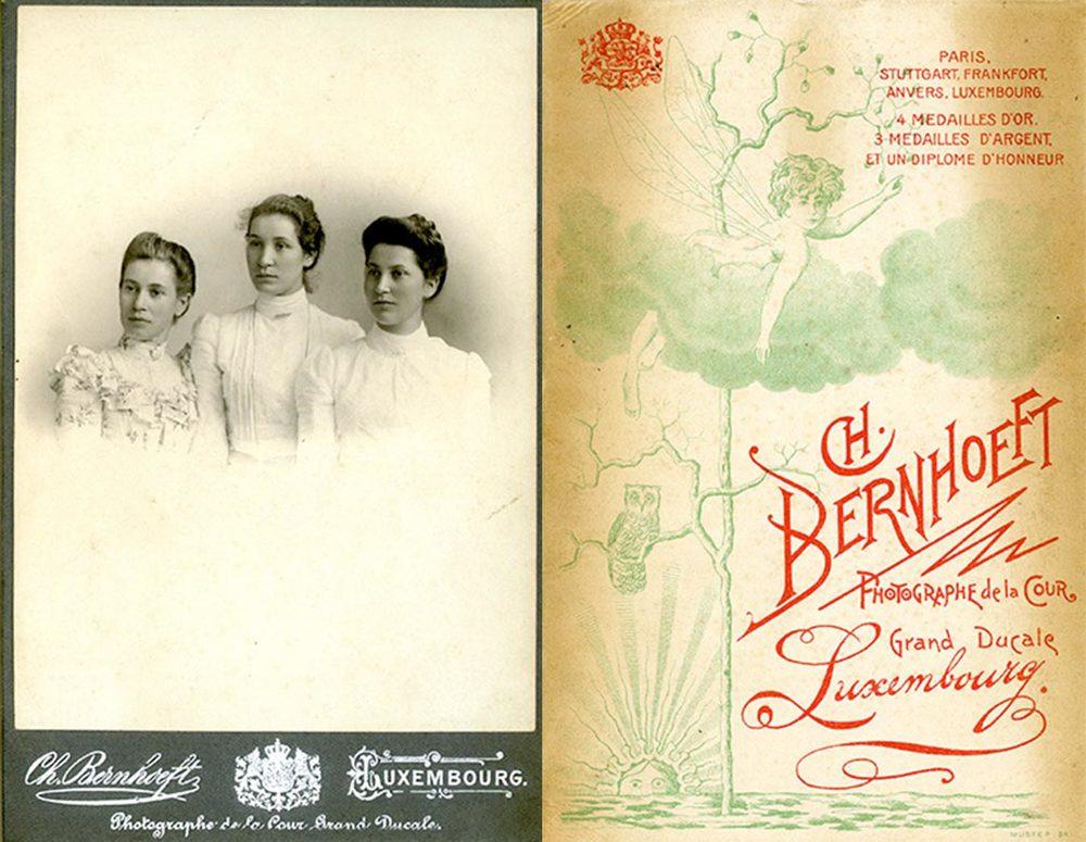 Helene, Anna Maria, Gertrud Schmitz, © Charles Bernhoeft, vers / um 1900