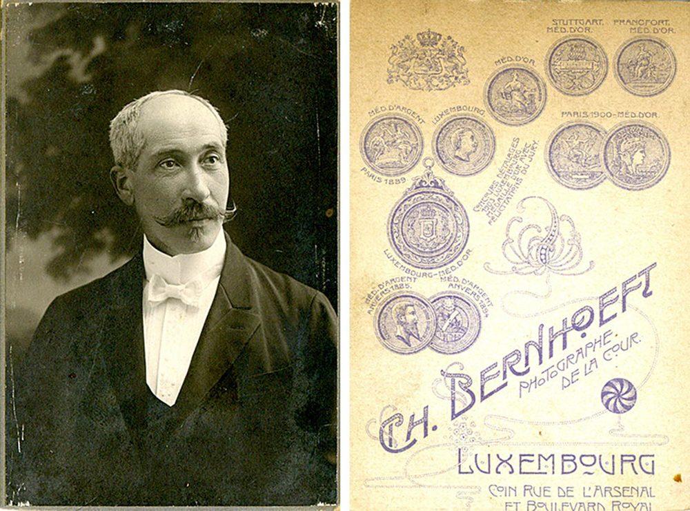 Joseph Schmitz © Charles Bernhoeft, ca. 1906