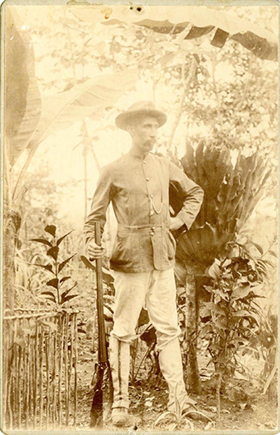 Joseph Schmitz, vers 1890 © photographe inconnu, drotis réservés