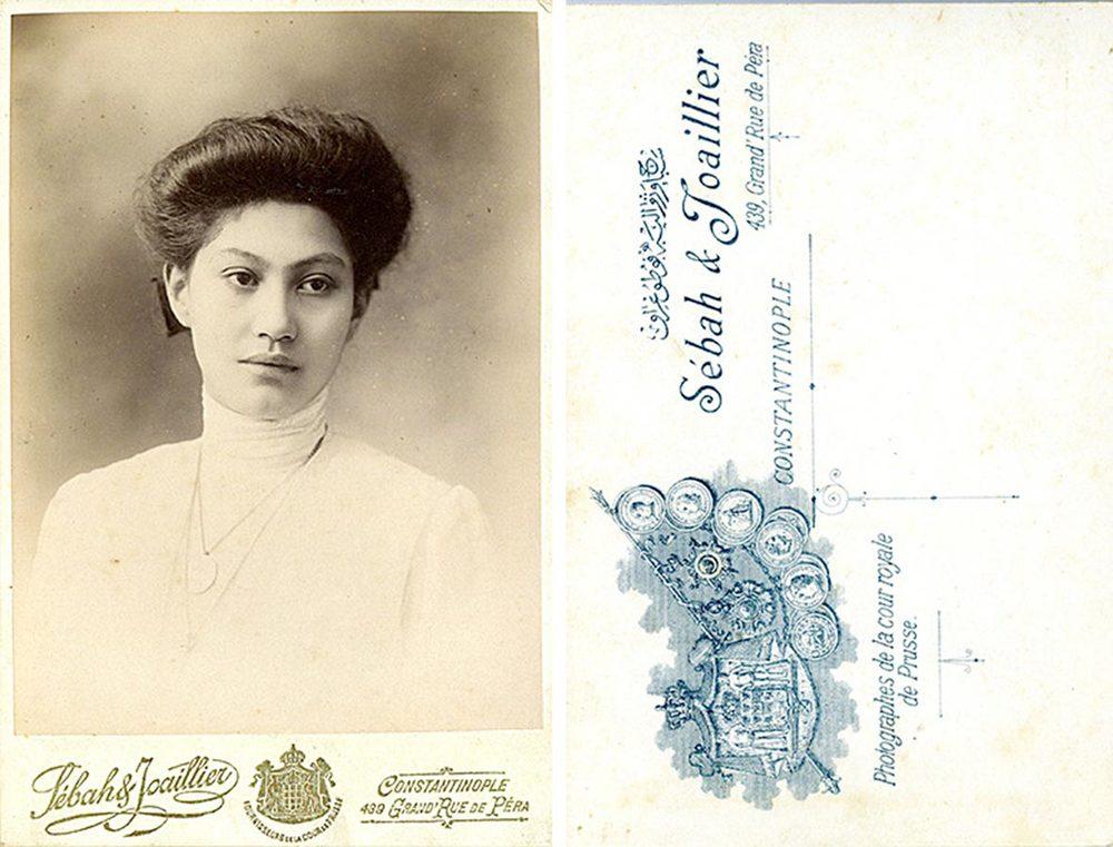 Maria Anna Schmitz du Moulin © Sébah & Joaillier, photographes de la cour royale de Prusse, Constantinople