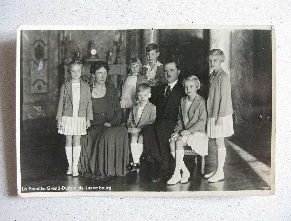 La famille grand-ducale de Luxembourg / Die Grossherzogleich Familie von Luxemburg © Photo Aloyse Anen Fils, Luxembourg