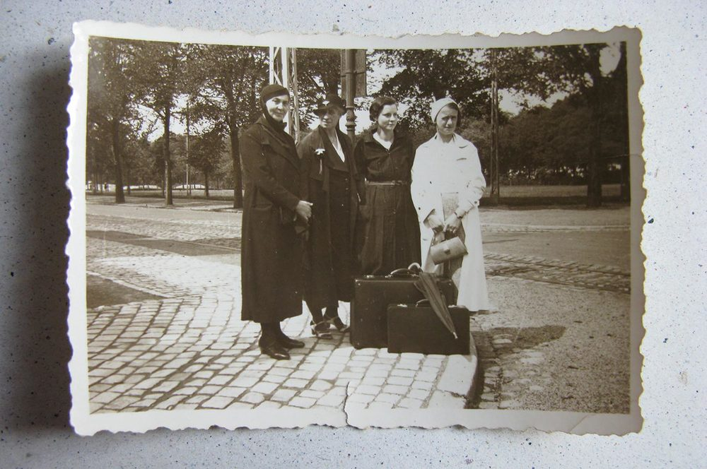 Personnes inconnues / unbekannte Personen, 4.8.1934 © photographe inconnu, droits réservés