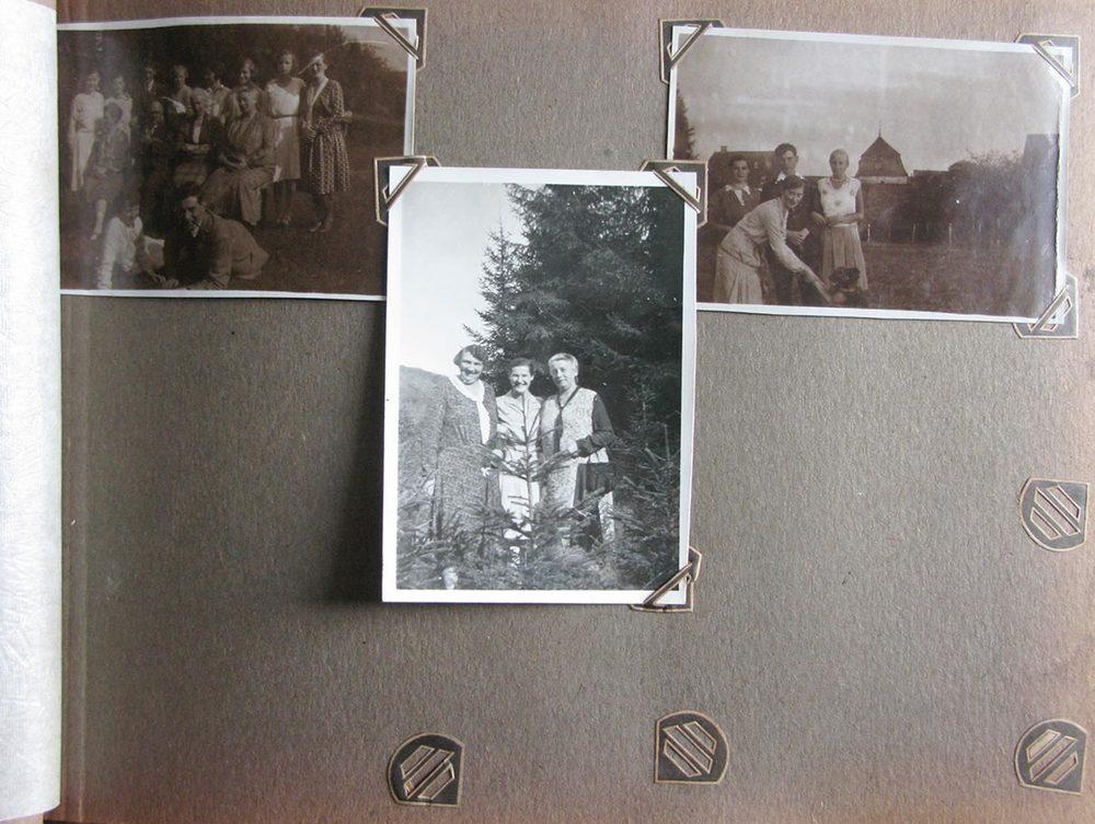 Visite au Birelerhof / Besuch auf Birelerhof © photographe inconnu, droits réservés