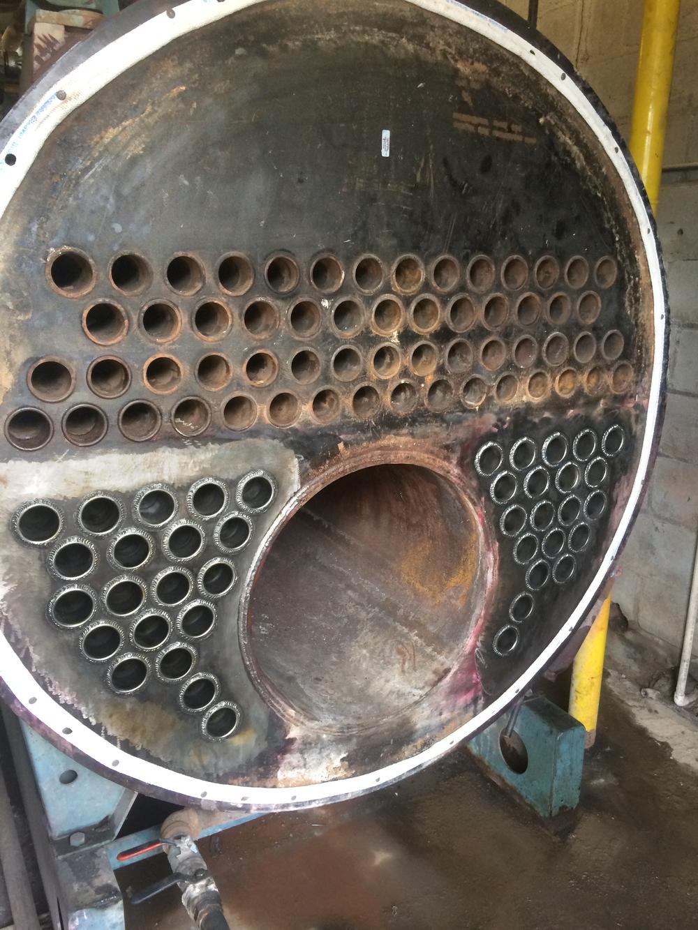 Boiler Retubing (AFTER)