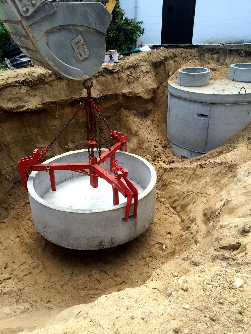 Sanitary Installation IN PROGRESS 2