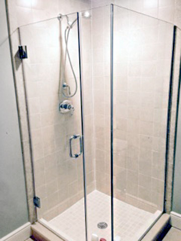 custom glass shower door