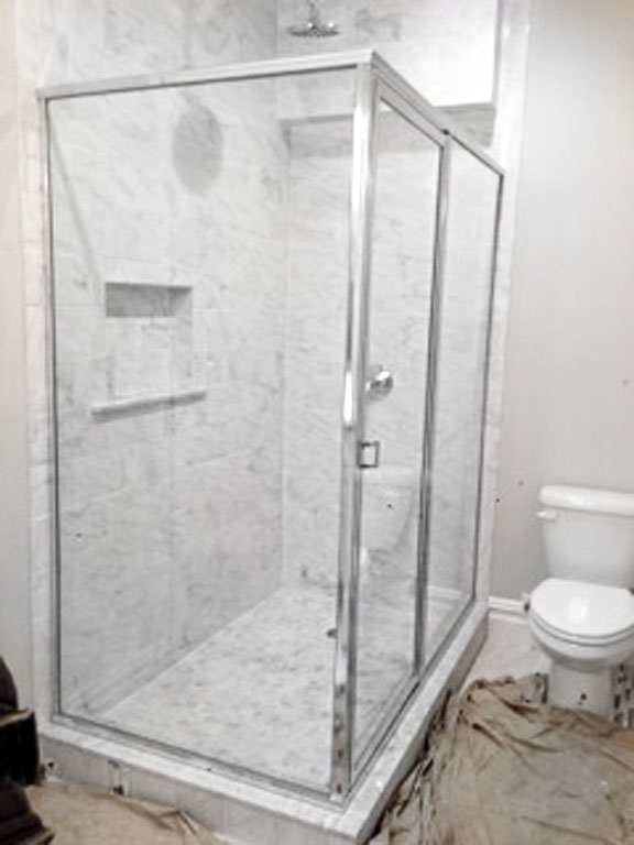 glass shower door