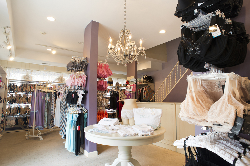 Specialty lingerie store