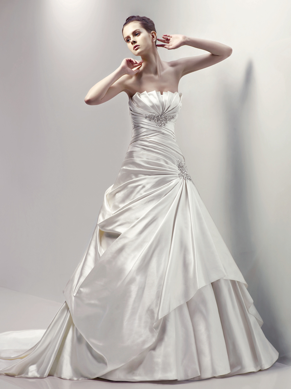 Calistoga by Blue Enzoani. Size 16 Was £1218 Now £400.