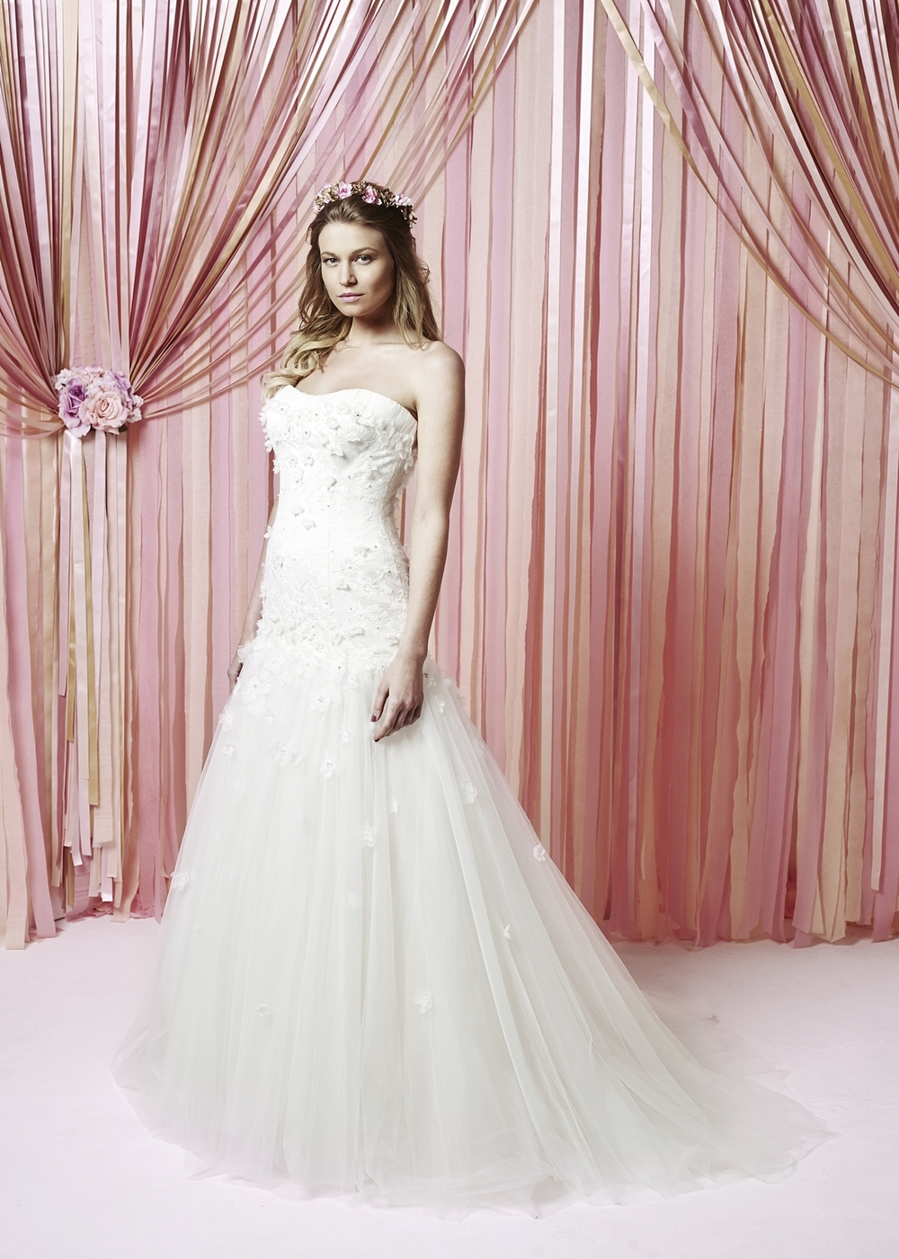 Emelia - Blush size 14 Was £1495 Now £600