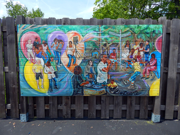 Local artist 'Duarte' has provided multiple murals for Redeemer