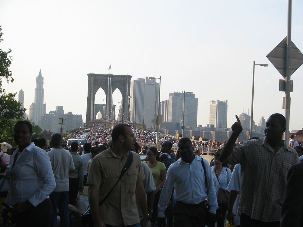 The 2003 Blackout aftermath in NYC