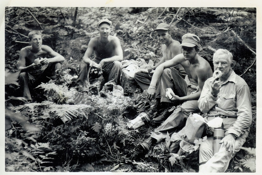 1952 - Crew on new Boott Spur Trail