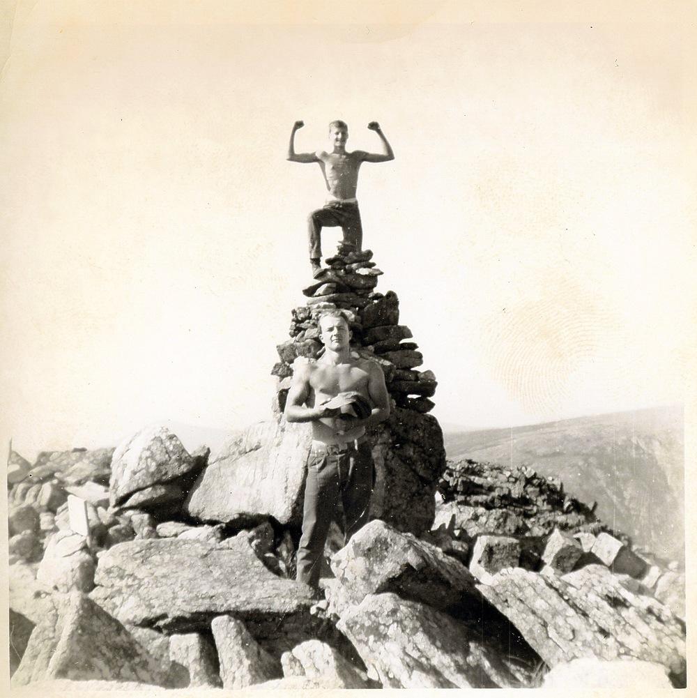 1952 - Katahdin Trip - Dobie Jenkins (top) & Bob Willard