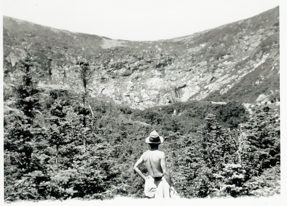 1952- Joe Orosz in Tuckerman Ravine