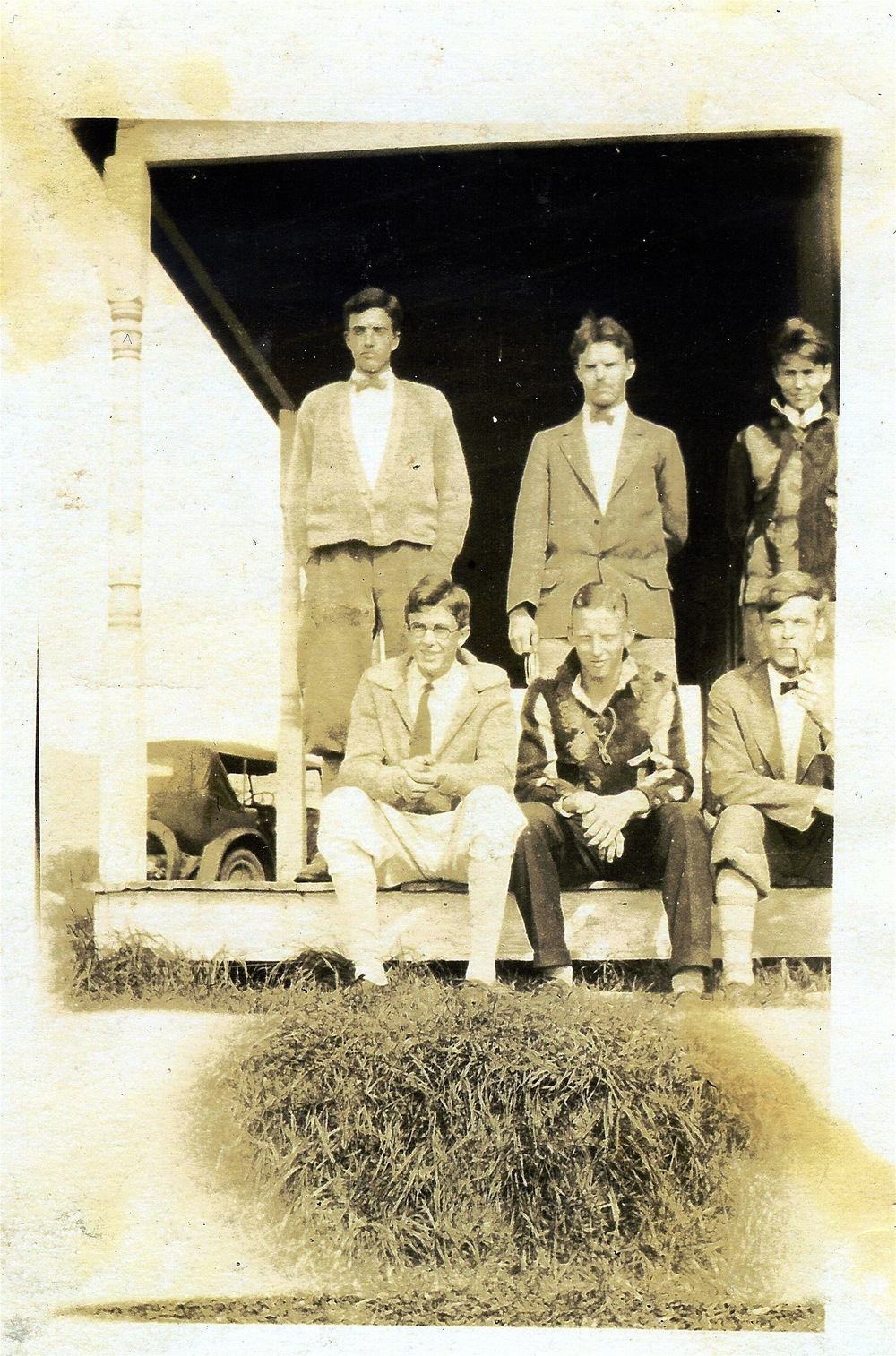 1926 Trail Crew at Locust Cottage