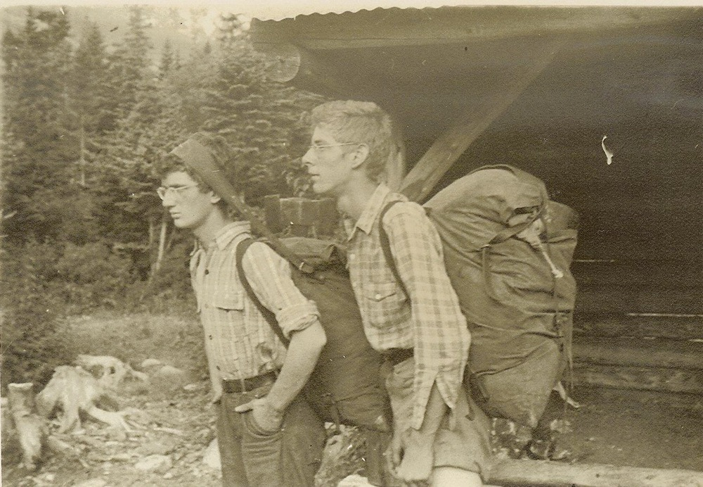 1944 - Ted Brown and Dick Birch - Chimney Pond, Katahdin