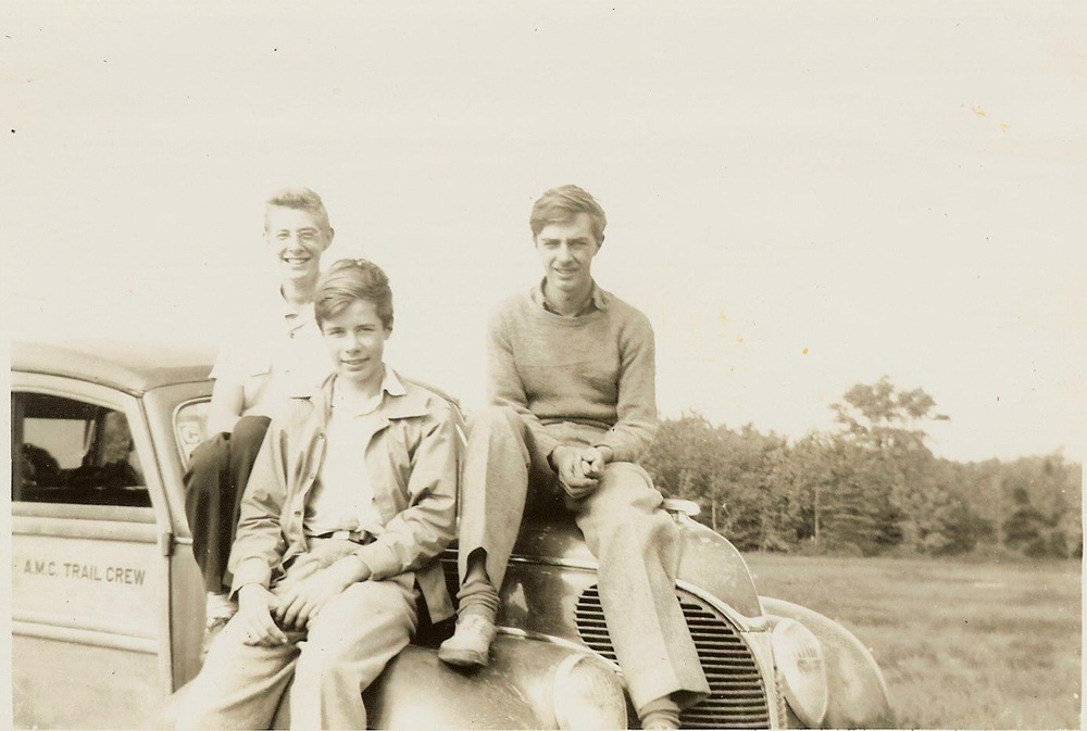 1944 - Dick Birch, Bill Chace, Paul Smith - Isle Boro. ME